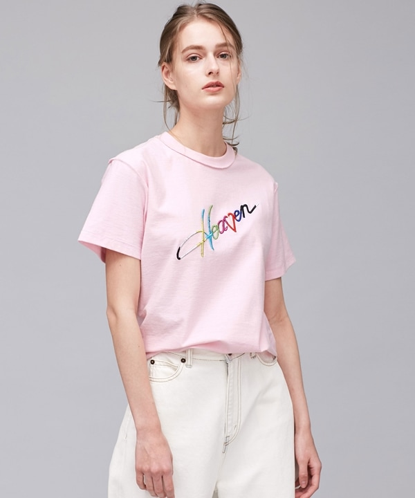 Slice of Heaven rainbow tee