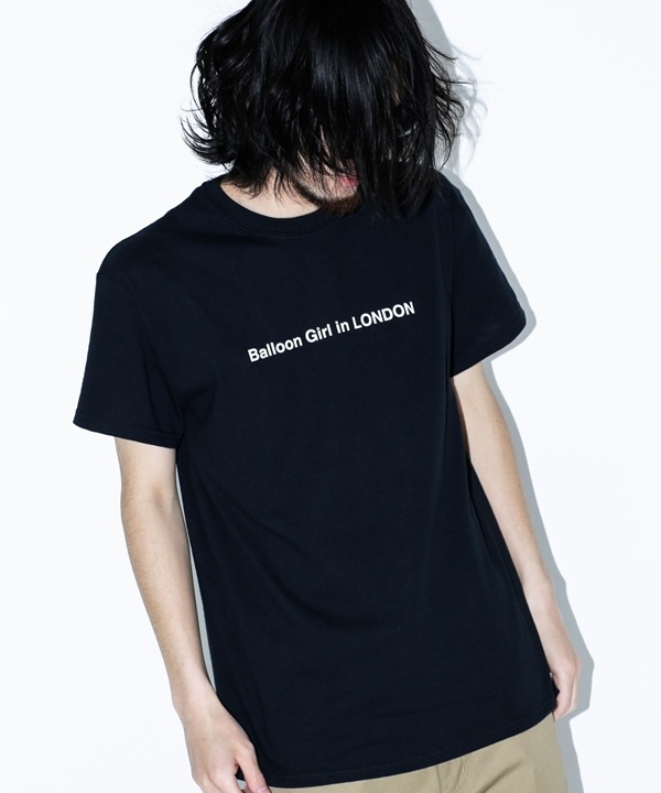 "BKS""Balloon Girl"" Tシャツ"