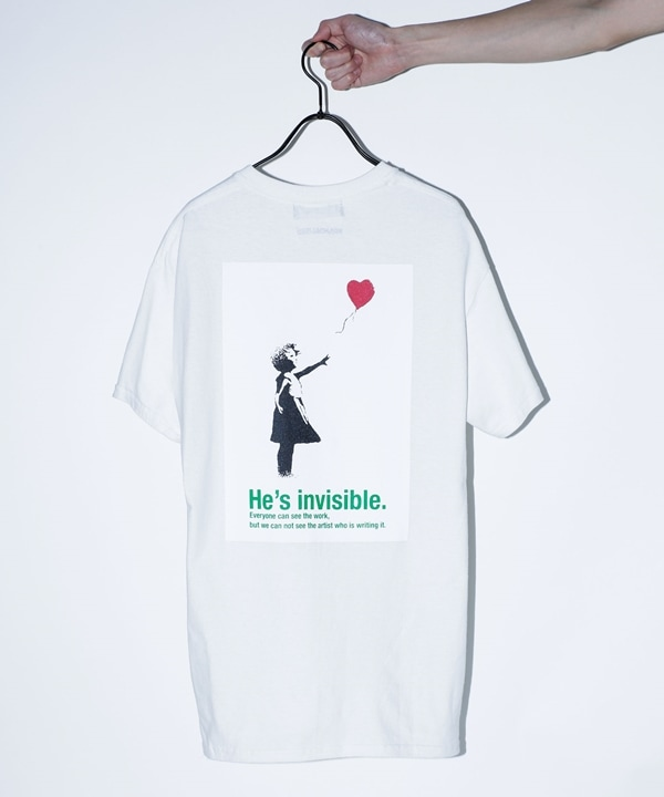 "BKS""Ballon Girl"" Tシャツ"