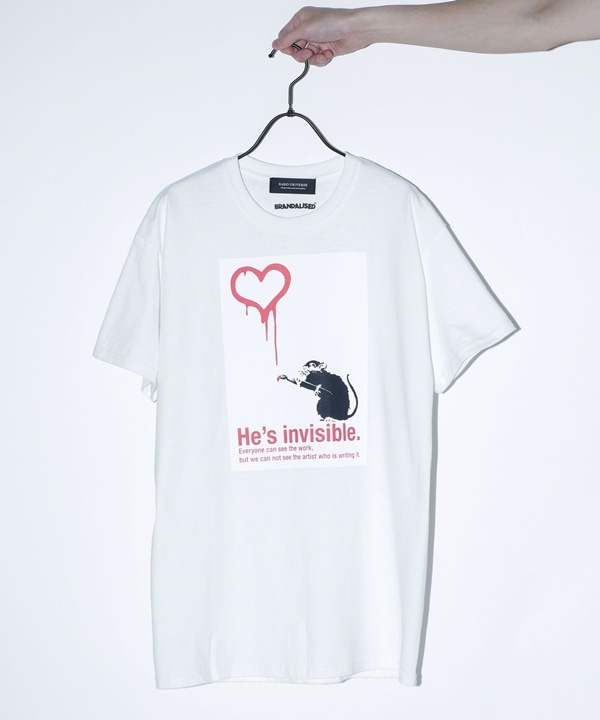 "BKS""Love Rat""Tシャツ"