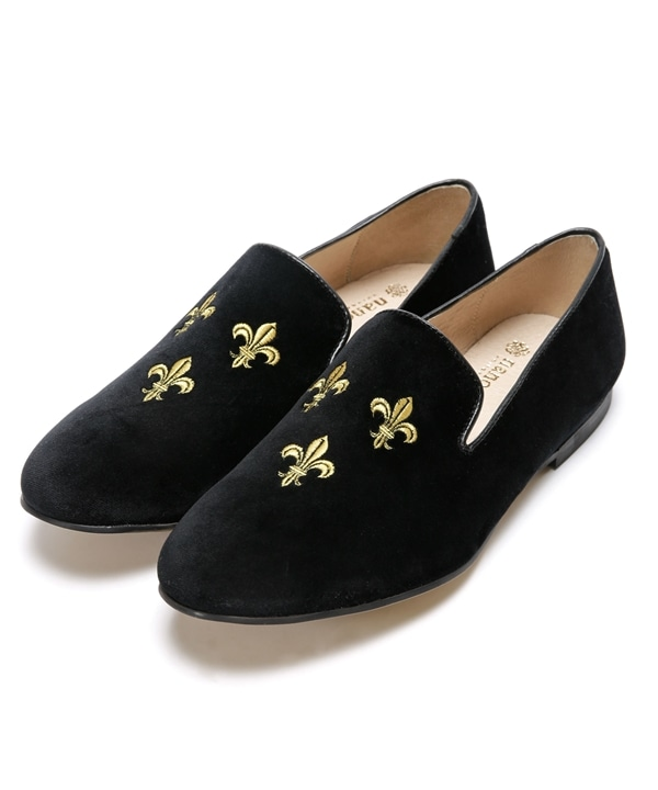 別注 EMBROIDRY SLIP ON SHOES