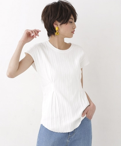 Wait Tuck French-sleeve Tee