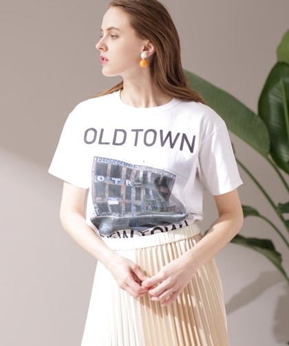 OLD TOWN Tシャツ