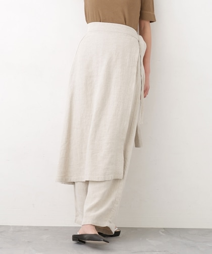 Apron-skirt Pants