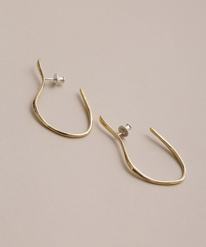 VINEA HOOK PIERCED EARRINGS