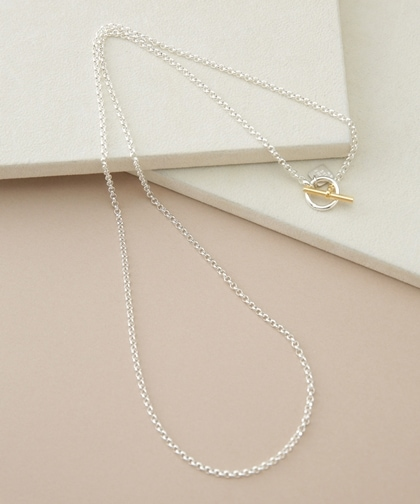 3.0・ Round Chain necklace